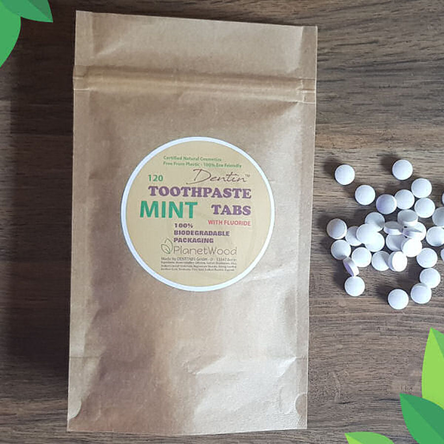 Dentin™ Mint Toothpaste Tabs