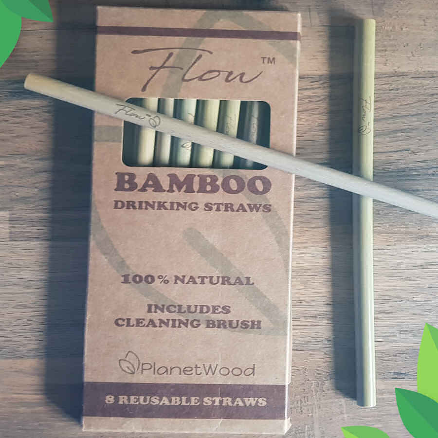 Flow Bamboo Drinking Straws