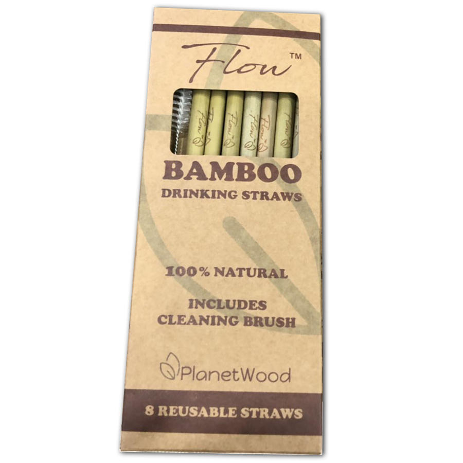 Flow™ Bamboo Straws