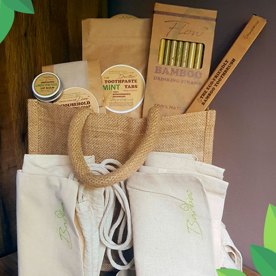 Personalised Eco Friendly Gift Set