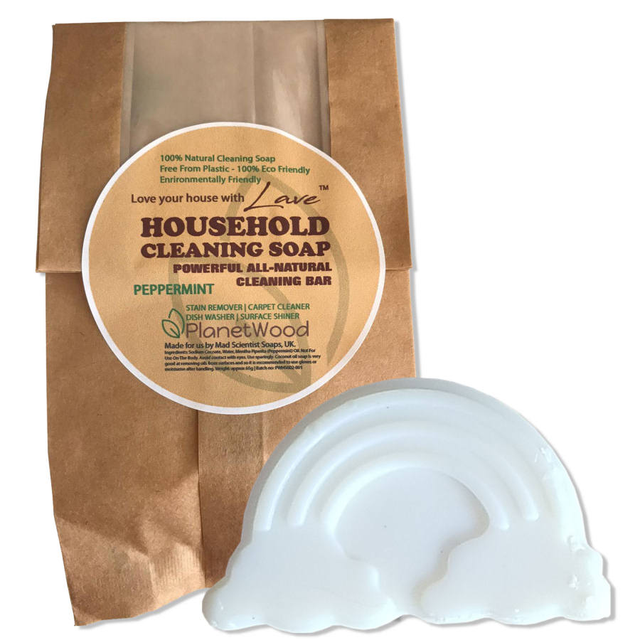 Peppermint Household Cleaning Soap