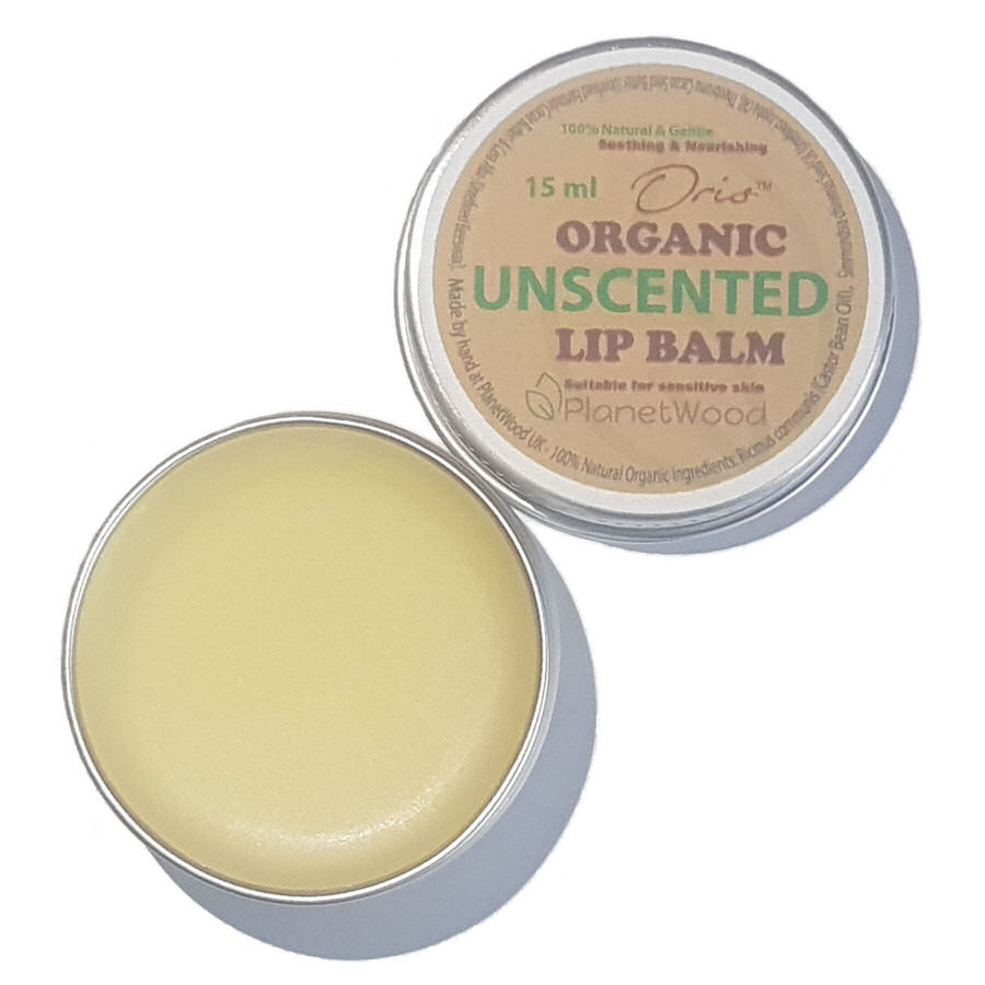 Oris™ Organic Unscented Lip Balm 15ml