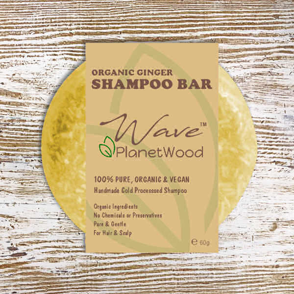 Ginger Shampoo Bar