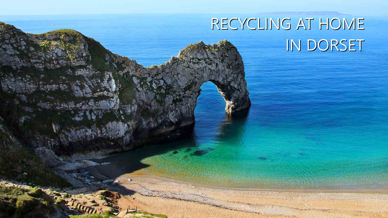 Recycling at home in Dorset