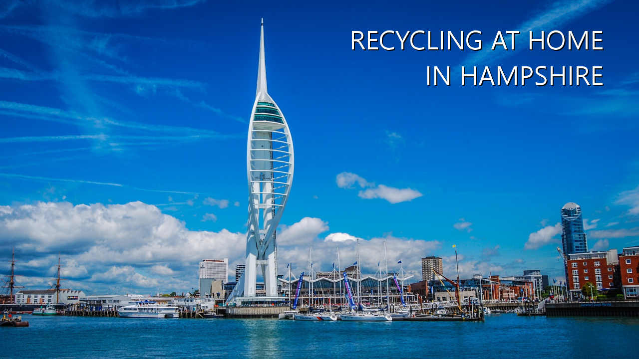 Recycling at home in Hampshire