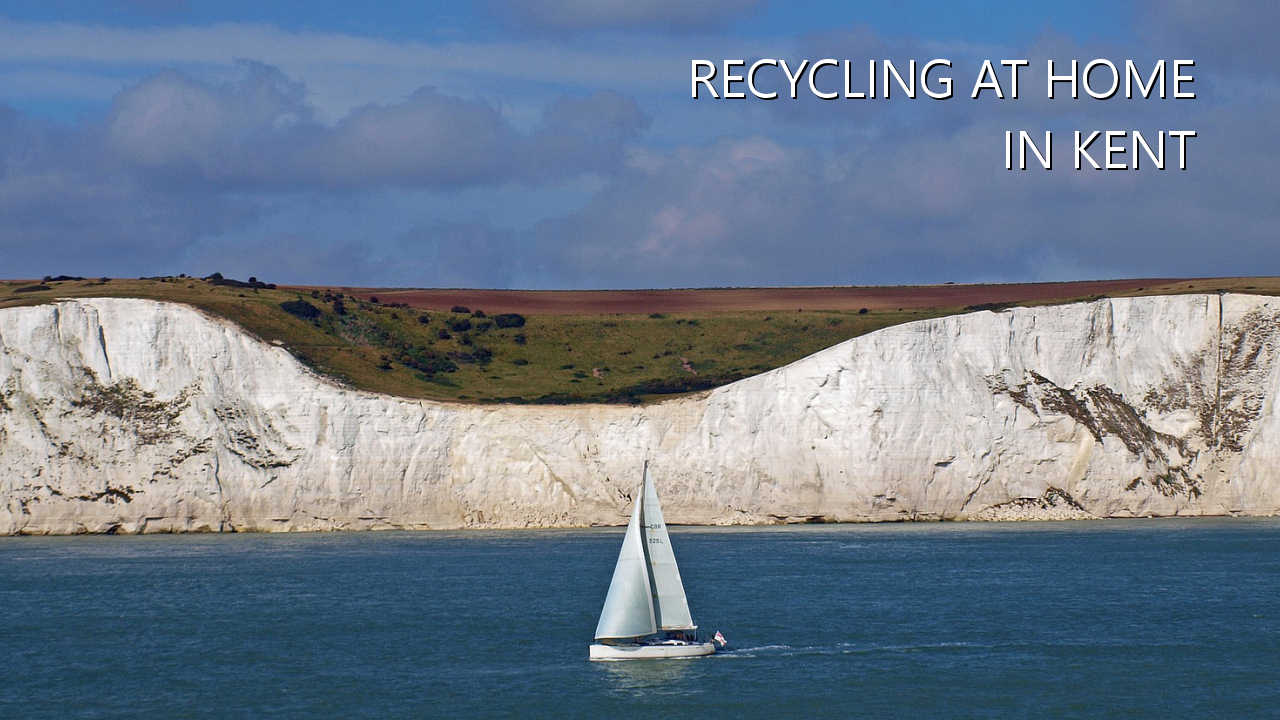 Recycling at home in Kent