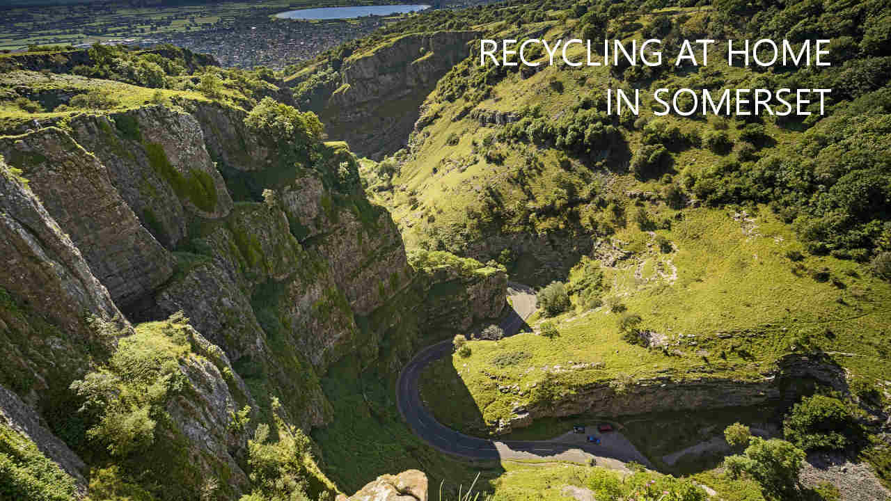 Recycling at home in Somerset
