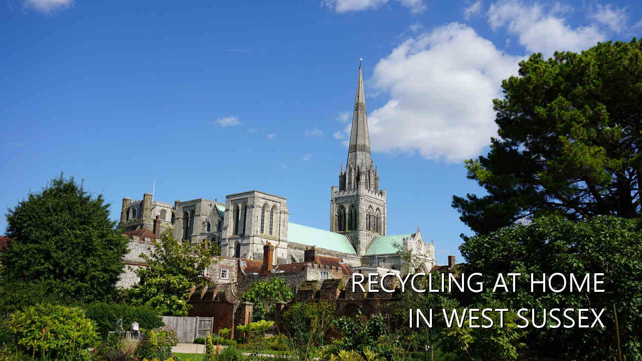 Recycling in West Sussex